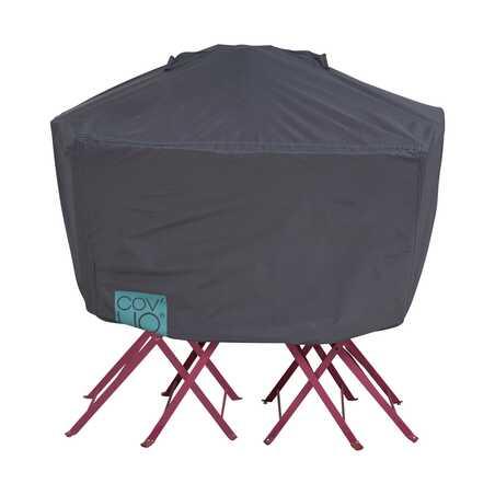 Housse de protection pour table de jardin carrée 80 cm