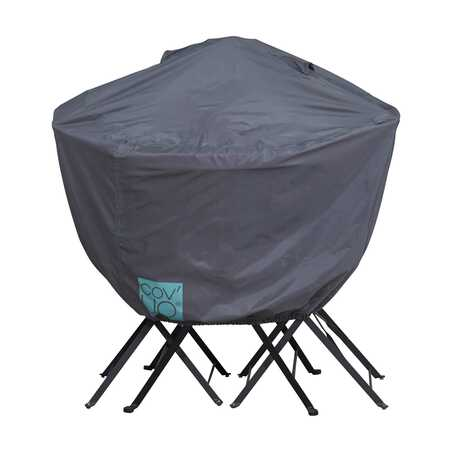 Housse pour table de jardin ronde 90 cm