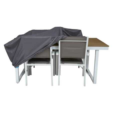 Housse de protection table de jardin 180 x 110 cm