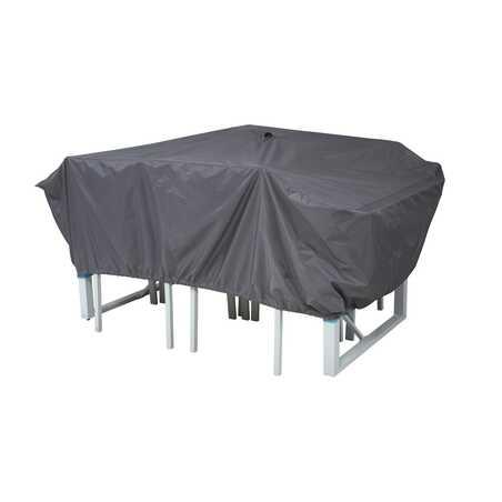 Housse de protection table de jardin 180 x 110 cm
