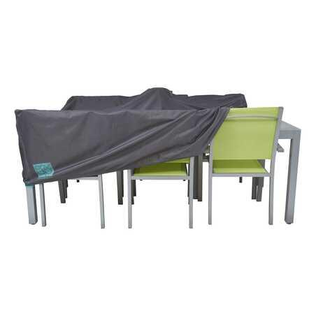 Housse de table de jardin rectangulaire 200 x 130 cm