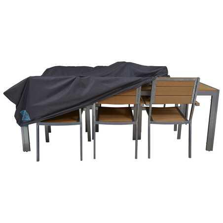 Housse de table de jardin 240 x 130 cm