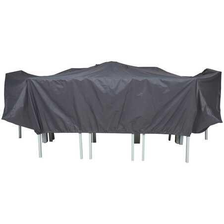 Housse table de jardin 310 x 130 cm
