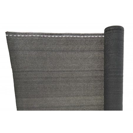 Brise vue 230 g/m² gris