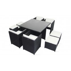salon de jardin bas pas cher oviala. Black Bedroom Furniture Sets. Home Design Ideas