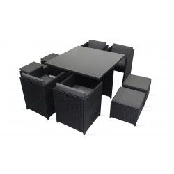 mobilier de jardin salon de jardin pas cher oviala. Black Bedroom Furniture Sets. Home Design Ideas