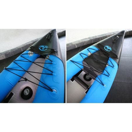 Kayak gonflable pro 1 personne