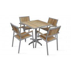 table et chaise de jardin en bois : Modèles et avantages - Oviala