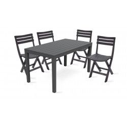 Table de jardin pliante - Oviala