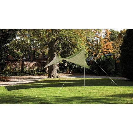 Voile d'ombrage carrée 4,80 m