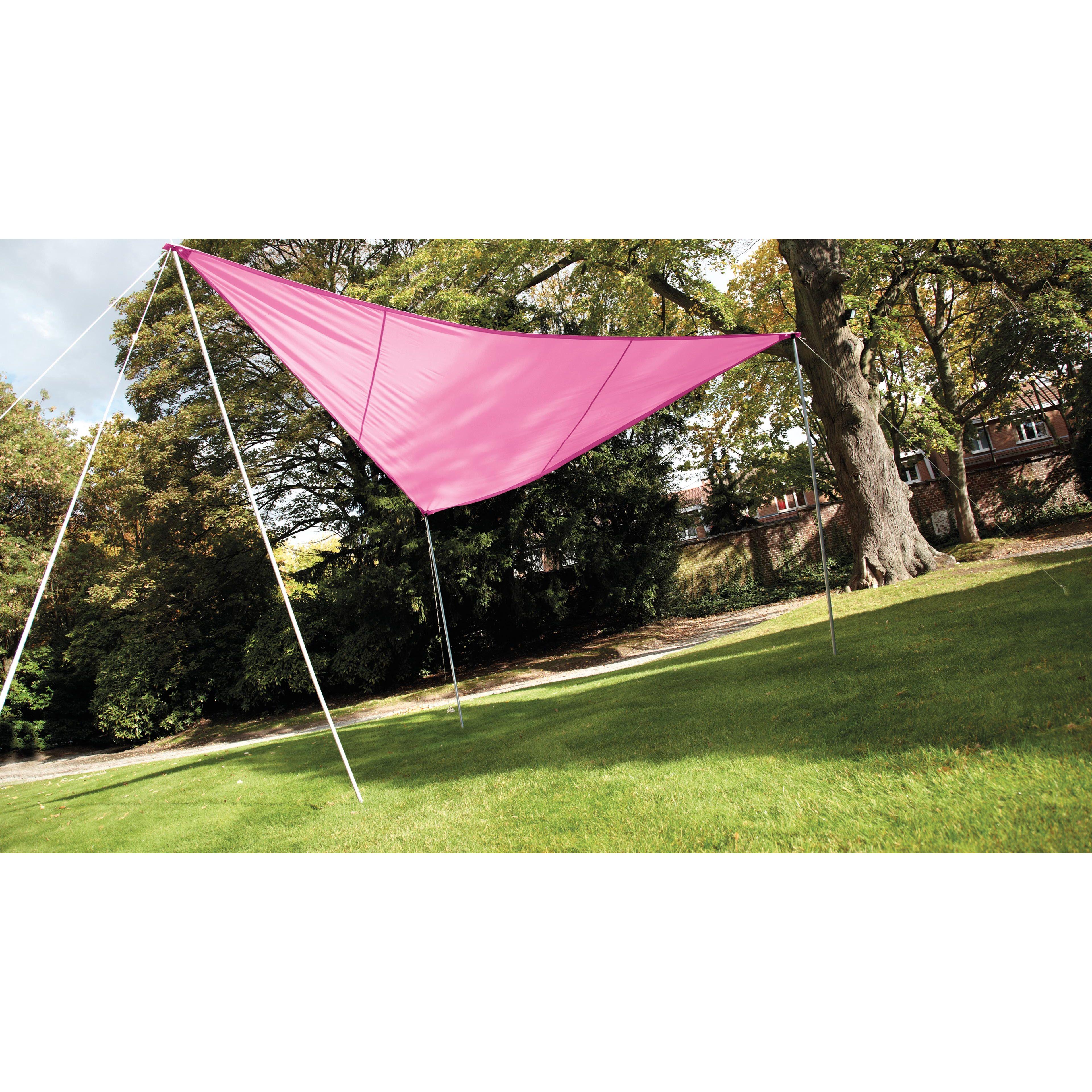 Fabriquer Sa Voile D Ombrage voile d'ombrage triangulaire pas chère