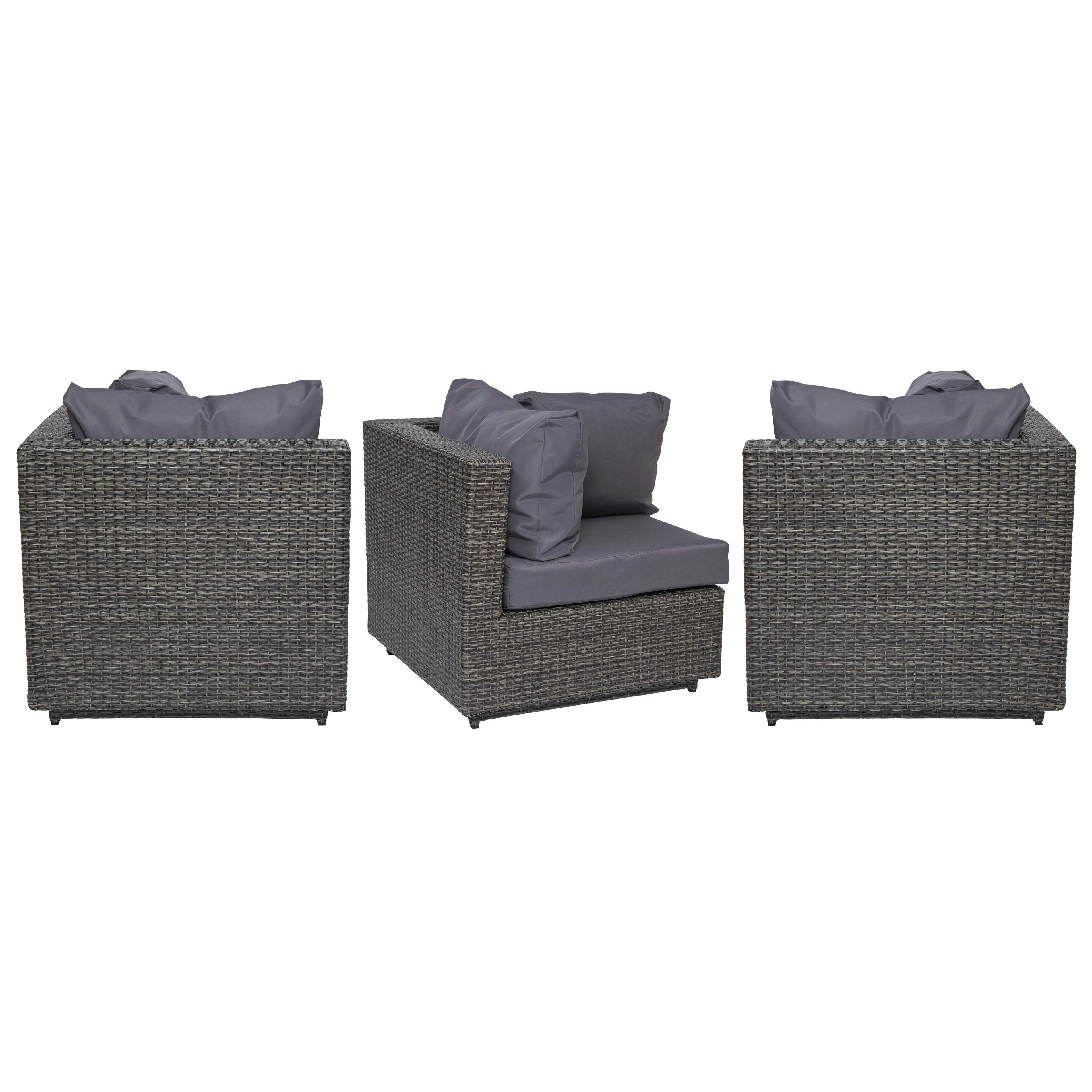 fauteuil de jardin d 39 angle pas cher. Black Bedroom Furniture Sets. Home Design Ideas