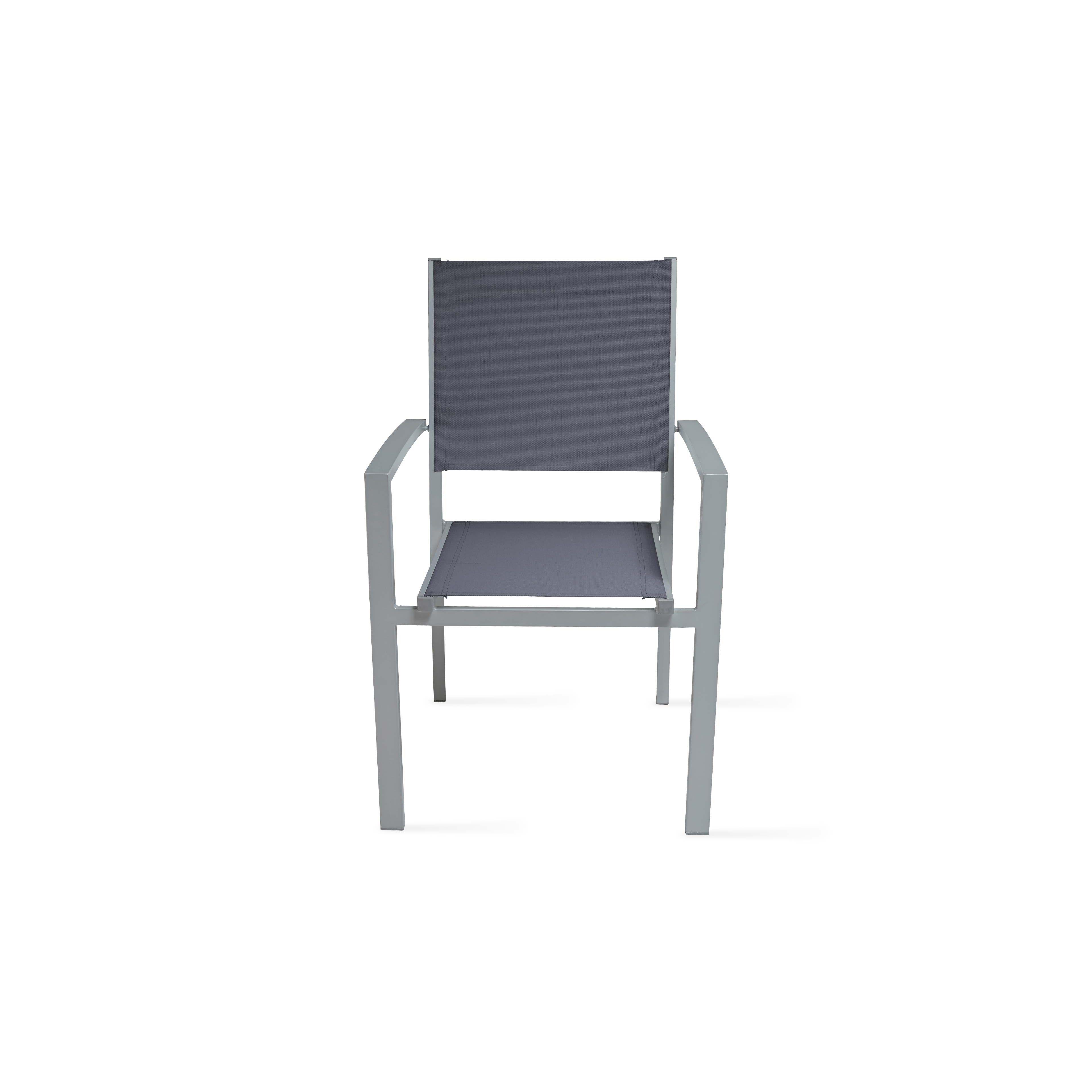 salon de jardin 8 personnes table et chaises. Black Bedroom Furniture Sets. Home Design Ideas