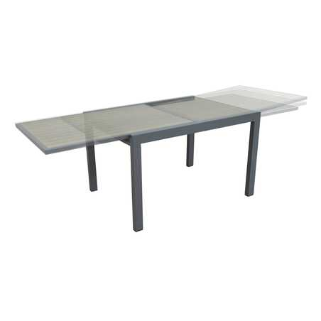Table de jardin extensible 120/240 cm