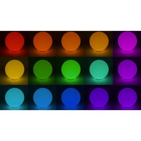 Boule lumineuse couleurs Boutique jardin