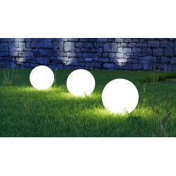Boule lumineuse LED 50 cm 16 couleurs