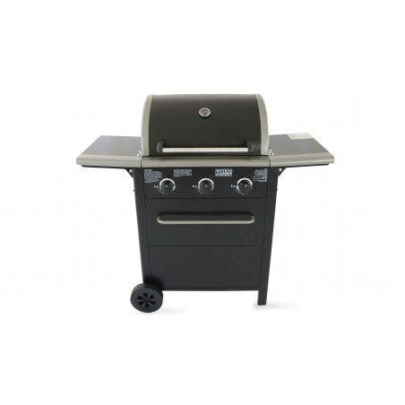Barbecue à gaz 3 brûleurs
