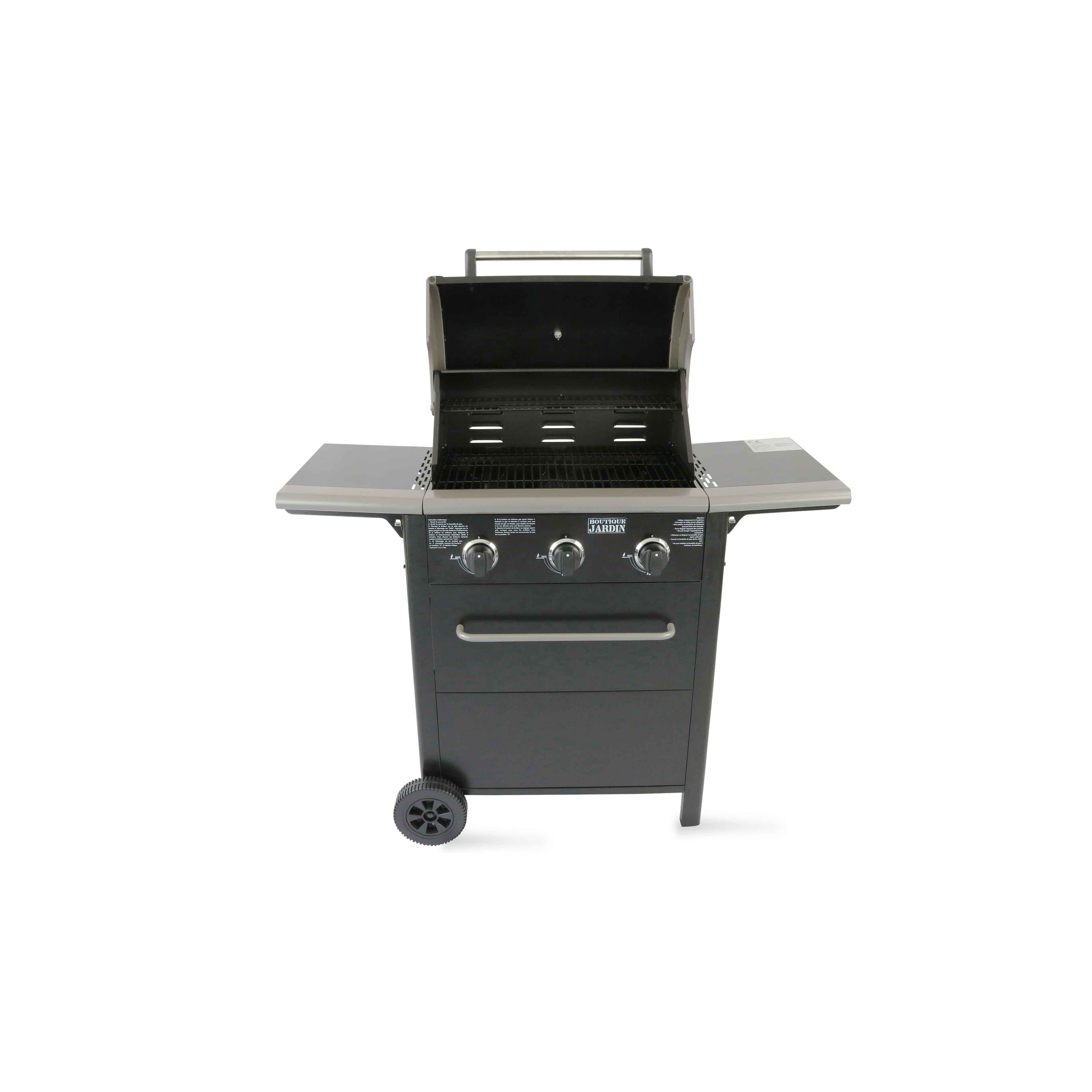 Barbecue Gaz Sans Plancha barbecue gaz 3 brûleurs
