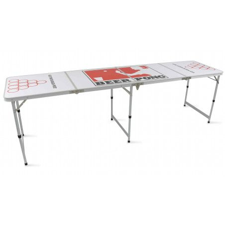 Table de beer pong pliante