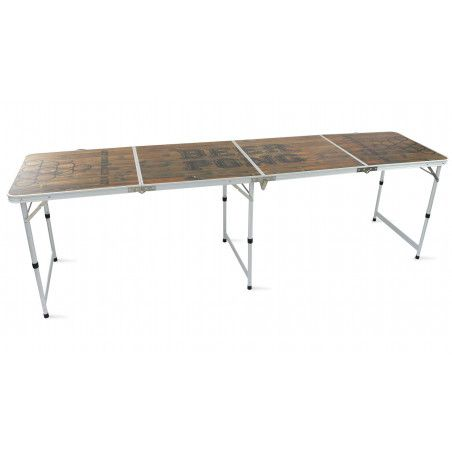 Beer pong table pliable