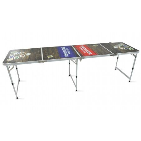Table de beer pong pliable
