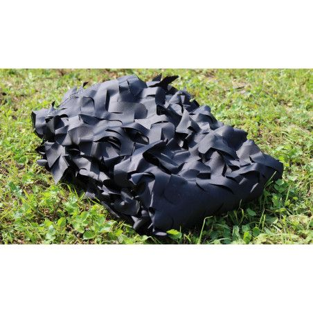 Filet de camouflage noir