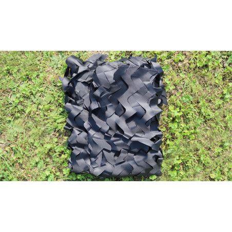Filet de camouflage - noir