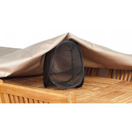 Housse de protection table de jardin ronde 160 cm