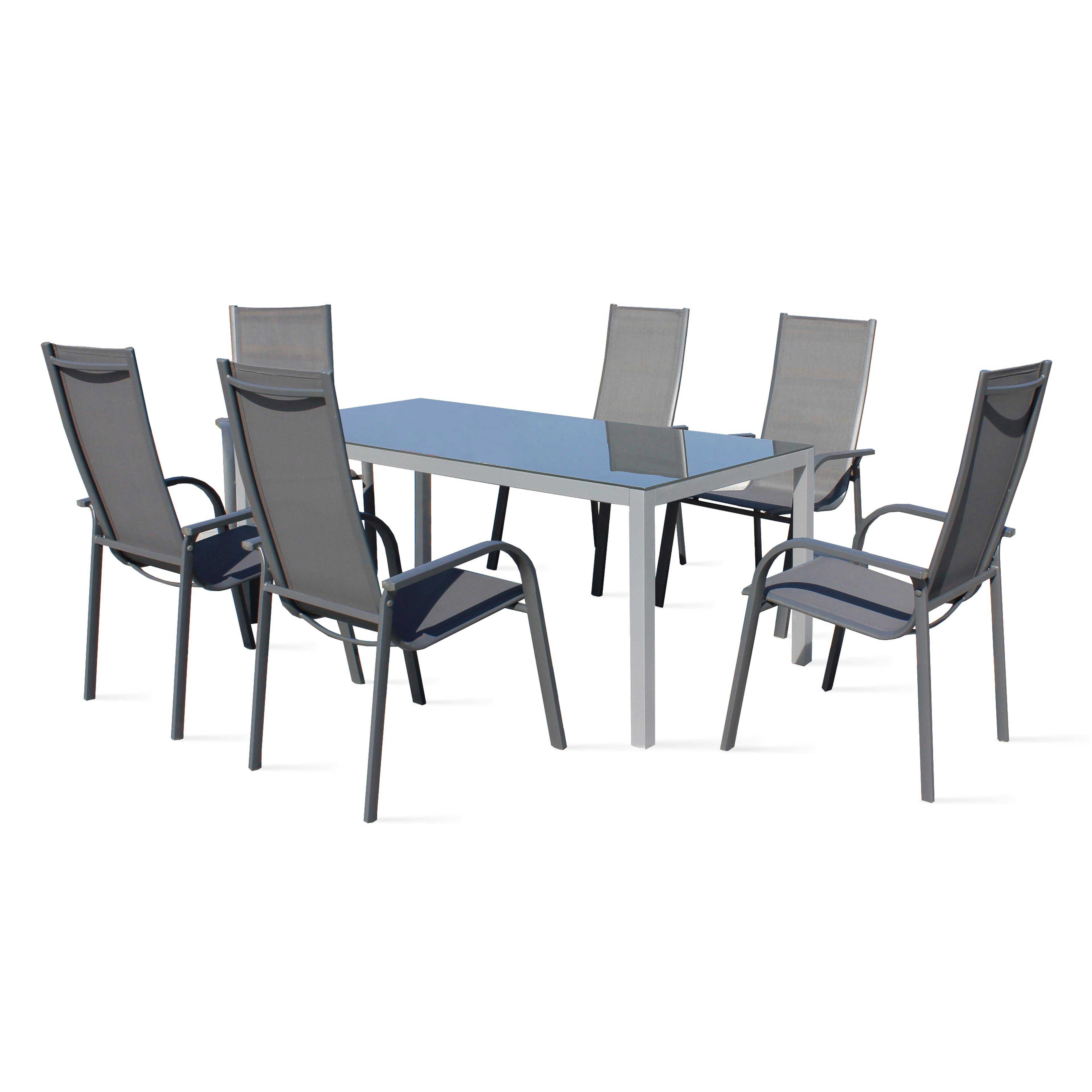 table de jardin en aluminium pas cher salon de jardin aluminium resine tressee com with table. Black Bedroom Furniture Sets. Home Design Ideas