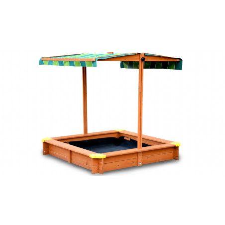 Bac à sable avec toit
