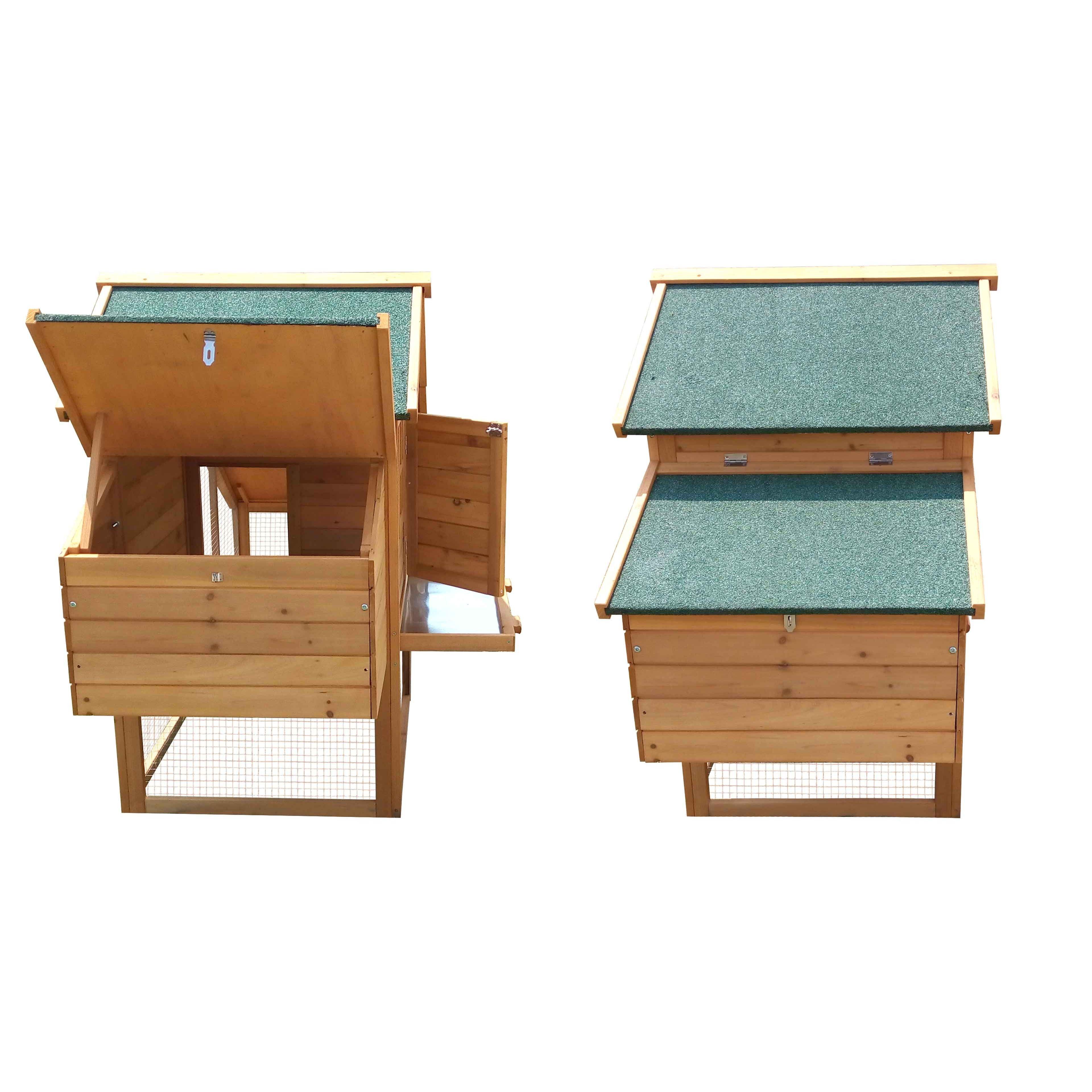 poulailler bois pondoir oviala. Black Bedroom Furniture Sets. Home Design Ideas