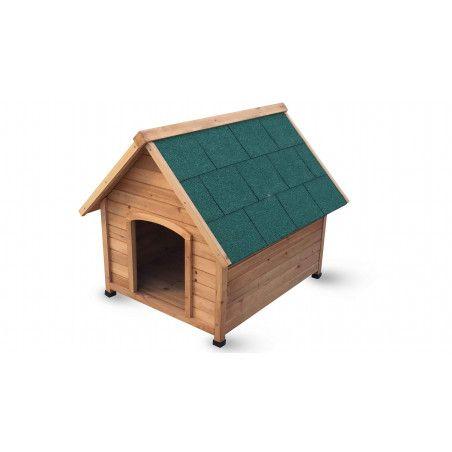Niche en bois pour chien XL