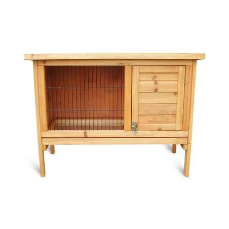 Abri en bois pour rongeurs ou lapins