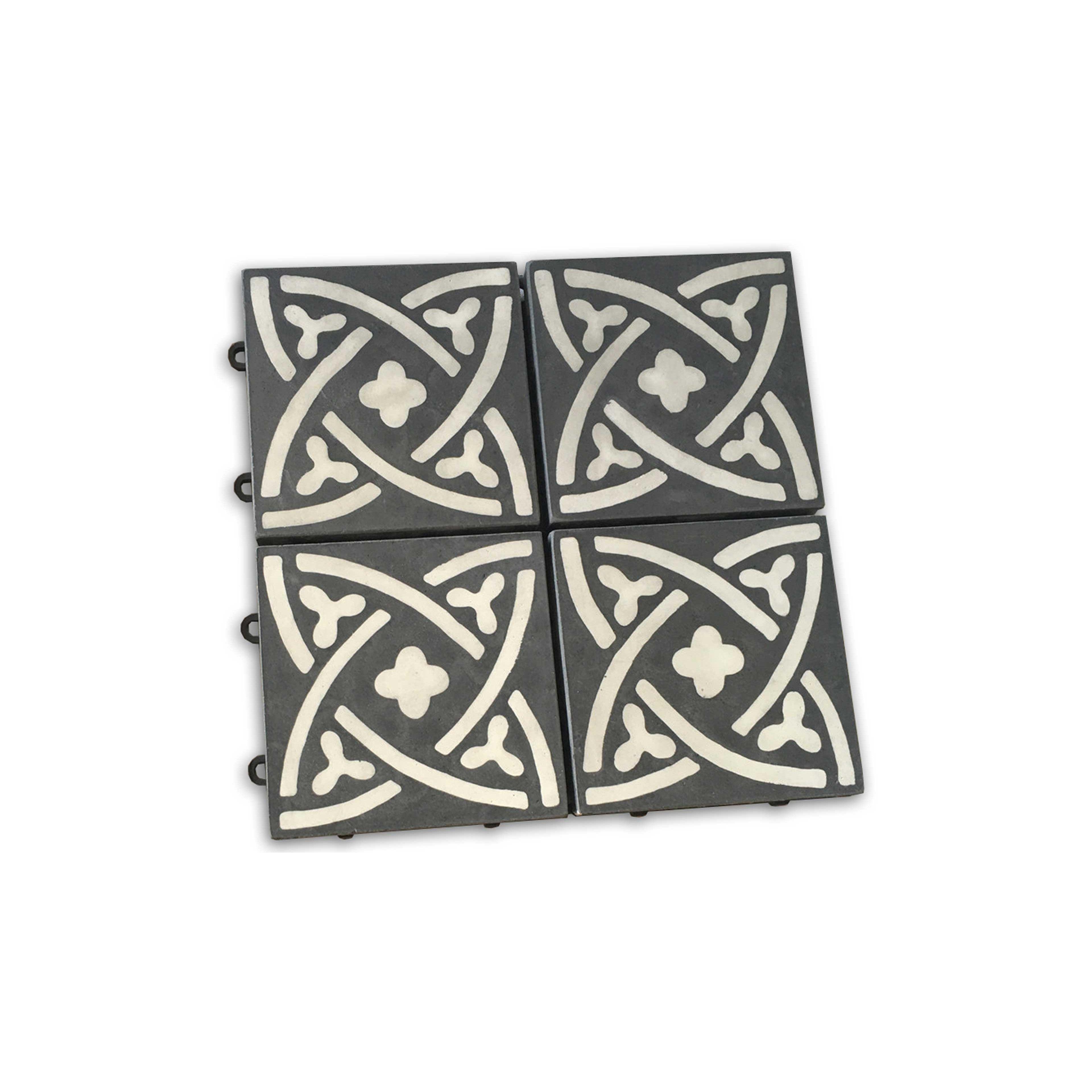 couper carreau de ciment papierpeint carreaux de ciment carreau de ciment vritable uni x cm au. Black Bedroom Furniture Sets. Home Design Ideas