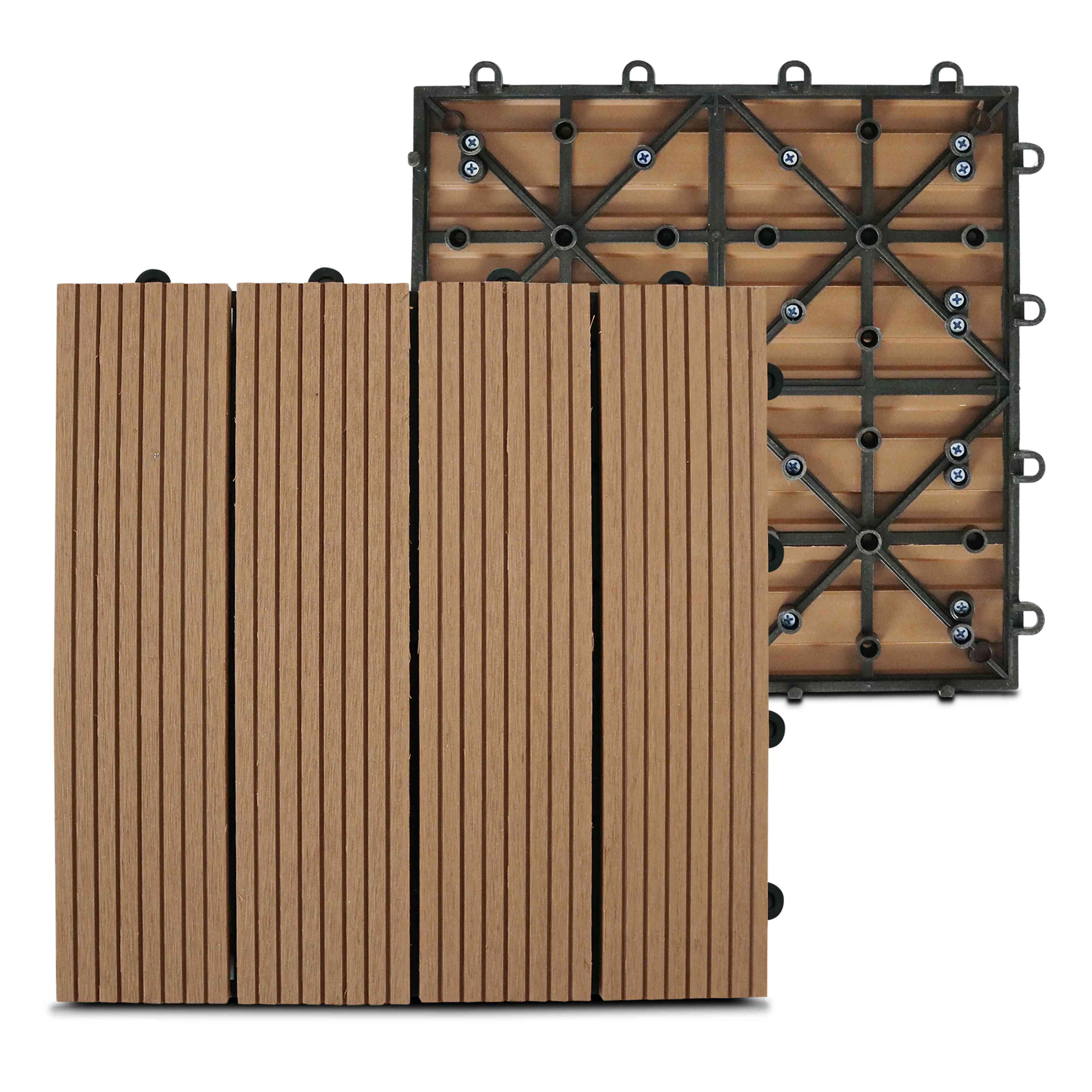 Vente Bois Pour Terrasse dalle terrasse clipsable bois composite