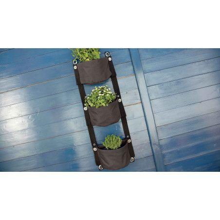 Jardinière balcon toile