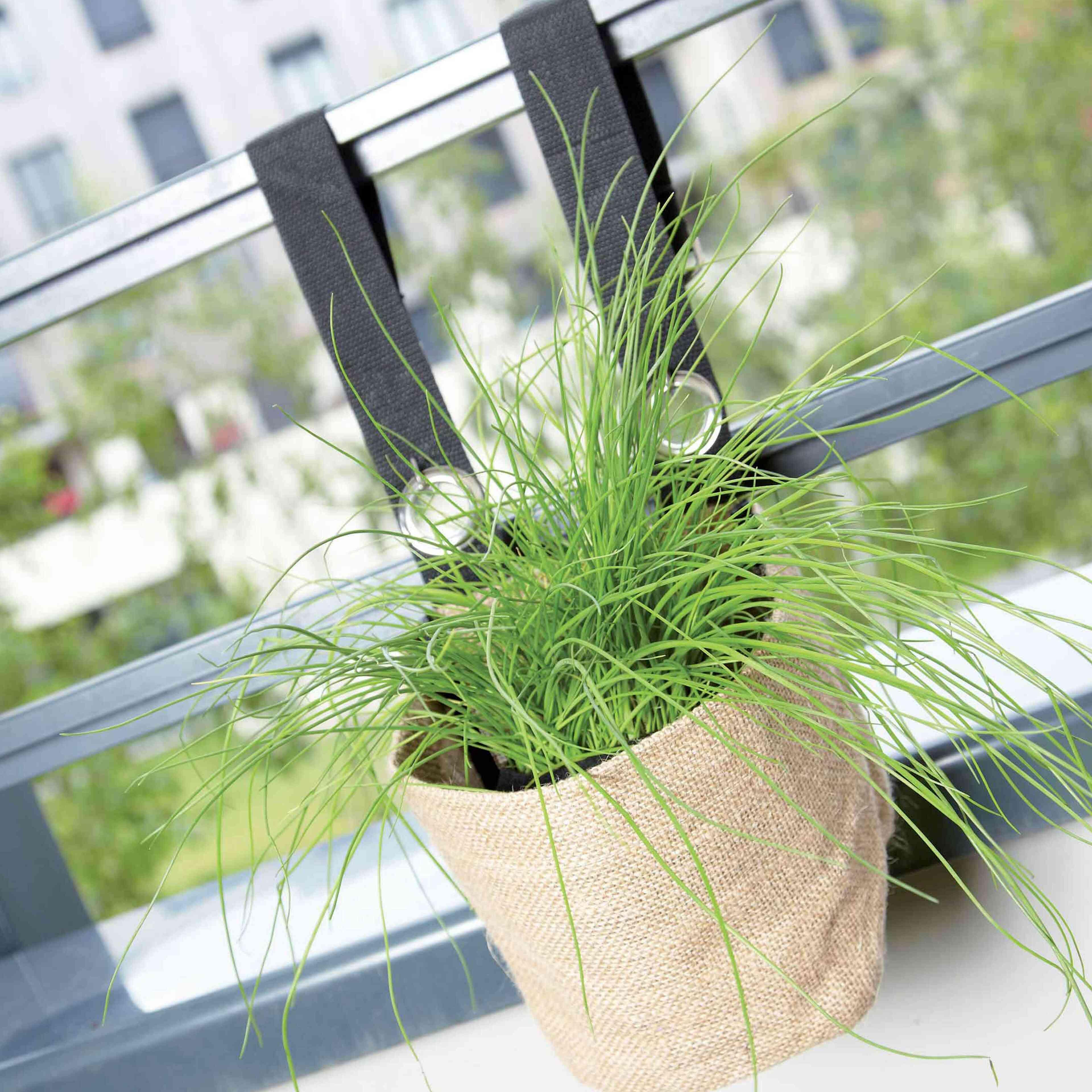 jardini re balcon souple. Black Bedroom Furniture Sets. Home Design Ideas