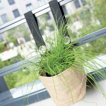 jardinière balcon tissu