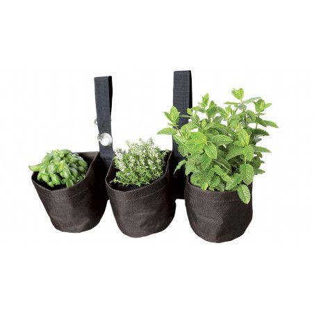 Triple jardinière suspendue