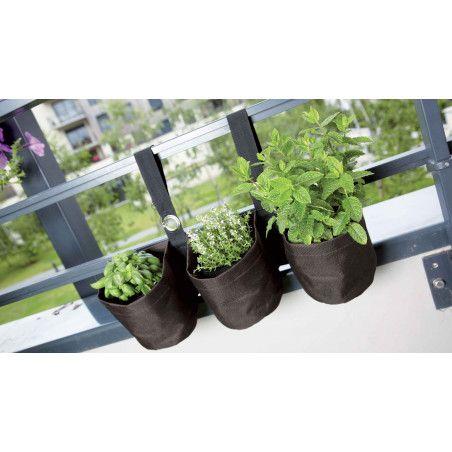 Jardiniere supendue balcon