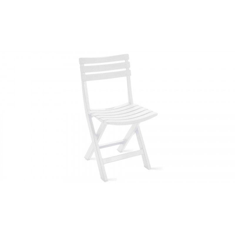 chaise pliante pvc jardin