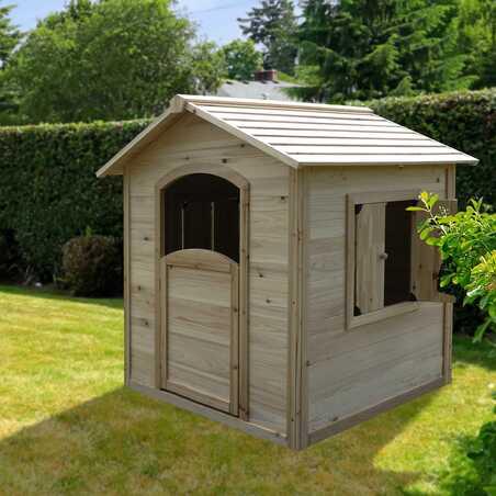 Maisonnette en bois cabane enfants