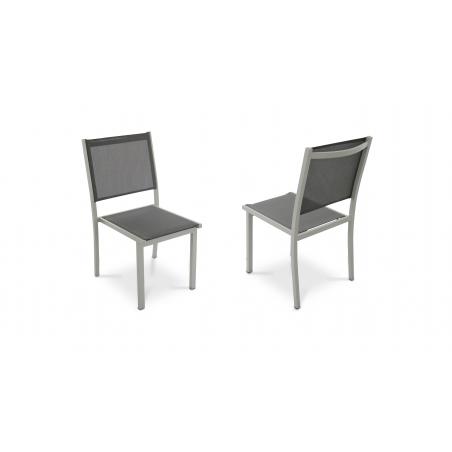 Chaises de jardin empilables Oviala