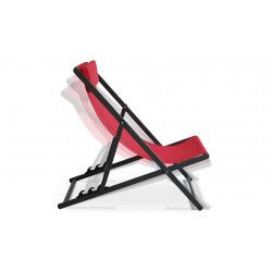 Chilienne rouge inclinable