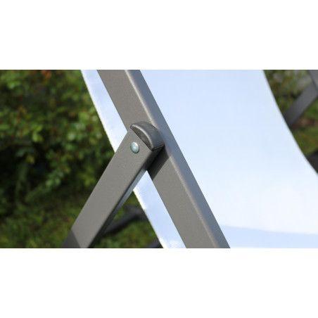 Chilienne blanche structure aluminium | SANTIAGO
