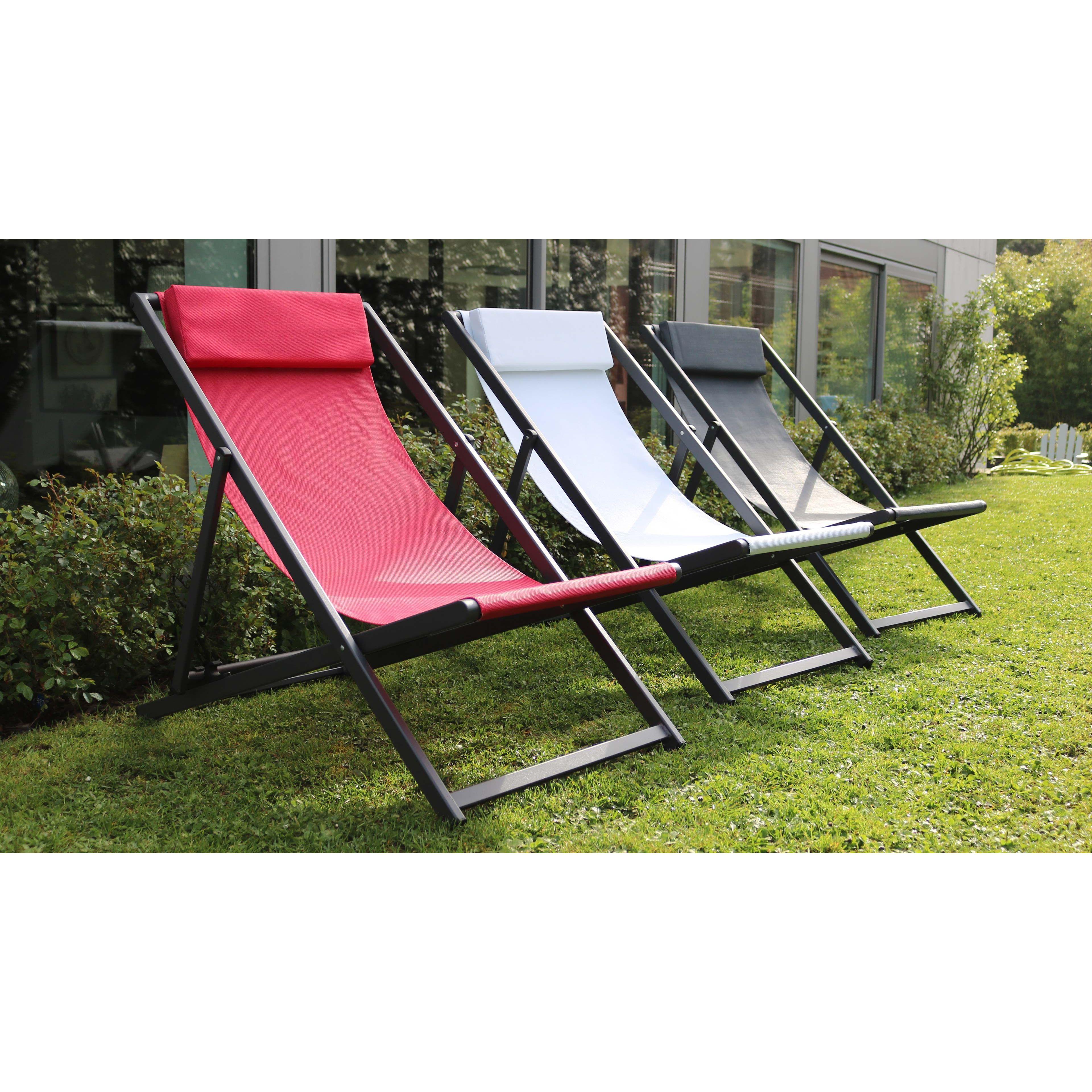 chilienne aluminium pliante. Black Bedroom Furniture Sets. Home Design Ideas