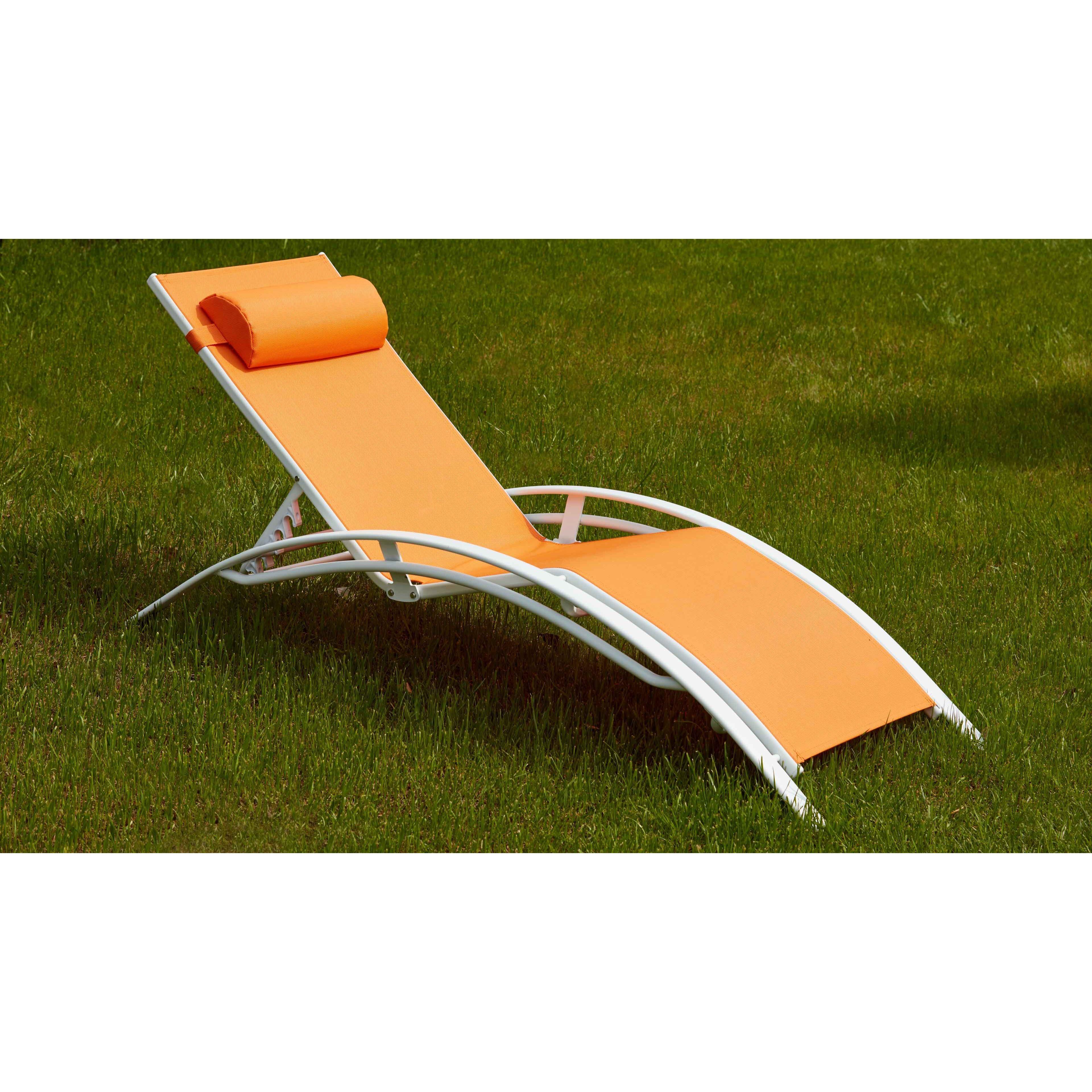 2 bains de soleil aluminium et textil ne. Black Bedroom Furniture Sets. Home Design Ideas