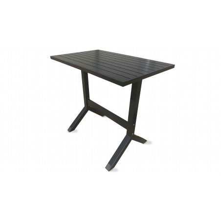 Table de jardin haute metal