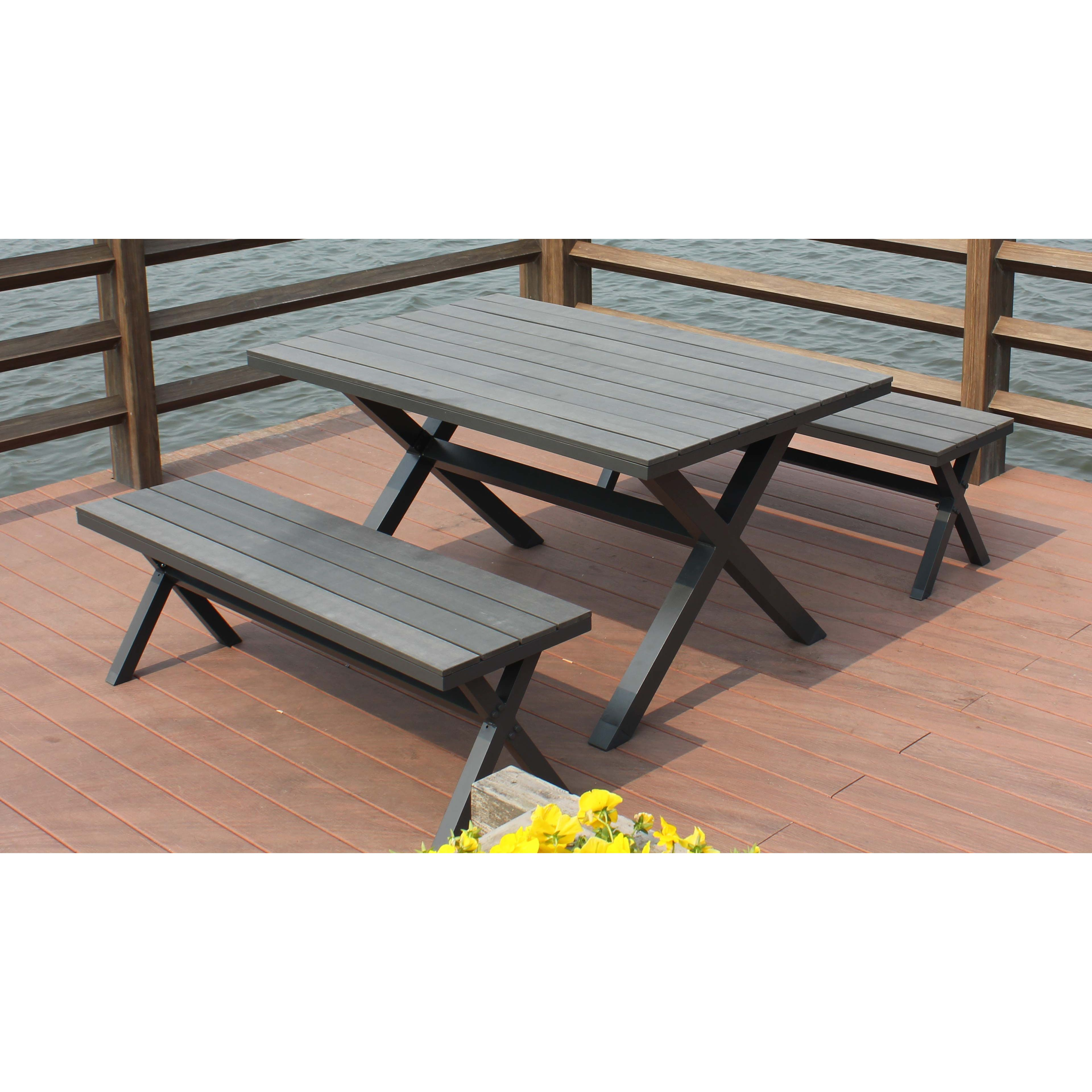 Table Banc Jardin Oviala