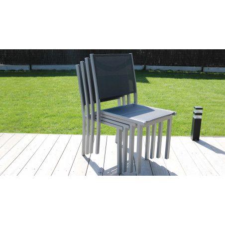Chaise de jardin empilable pas cher Oviala